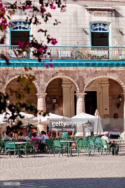 terrace of museo de arte colonial - merten snijders stock pictures, royalty-free photos & images