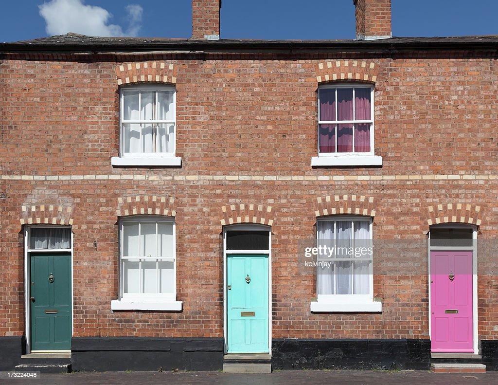 Terraced houses : Stock Photo