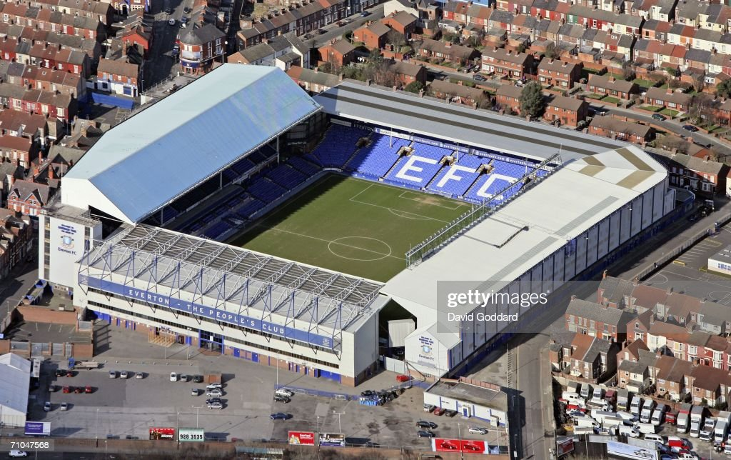 Everton Football Club's Goodison Park Ground : News Photo
