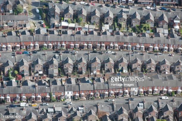 Terraced housing, York, North Yorkshire, 2014. Artist Historic England Staff Photographer.