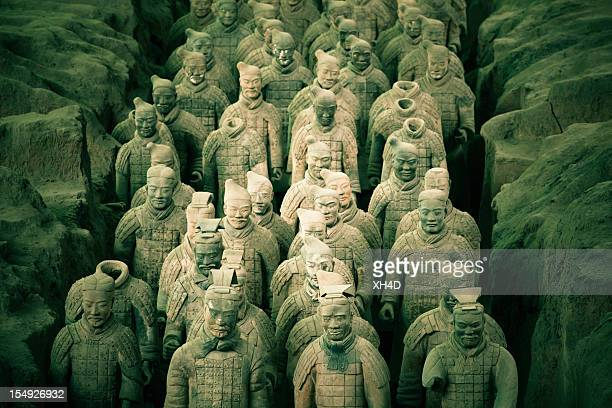Terracotta Army in Qin Shi Huang's Tomb