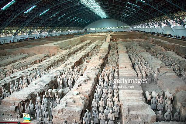 Terracotta Army is a collection of terracotta sculptures depicting the armies of Qin Shi Huang, the first Emperor of China. There are four bits...