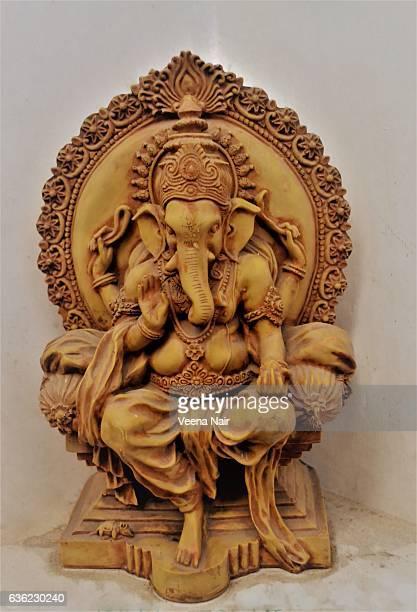 Terracotta Lord Ganesha/Ganpati/Ganesh