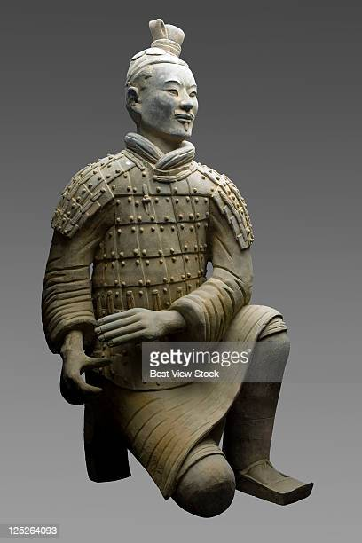 terracotta soldiers,xi'an,shanxi province,china - terracotta army stock pictures, royalty-free photos & images