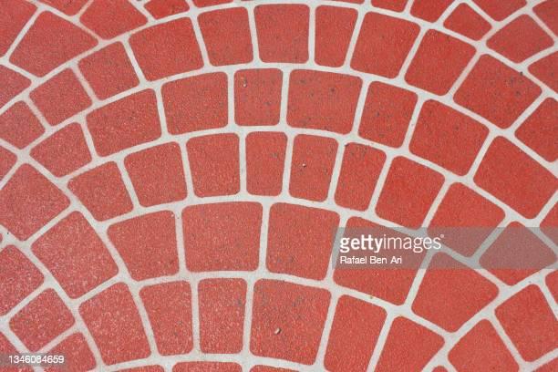 terracotta tiles floor surface - rafael ben ari bildbanksfoton och bilder