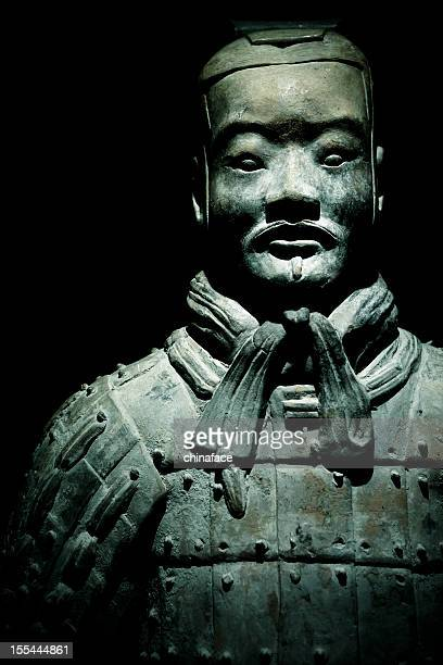 terracotta warrior - terracotta army stock pictures, royalty-free photos & images
