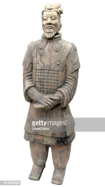 terracotta warrior. - terracotta army stock pictures, royalty-free photos & images