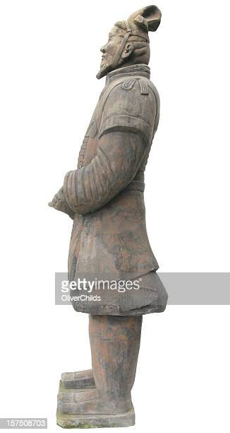 Terracotta Warrior. Side view