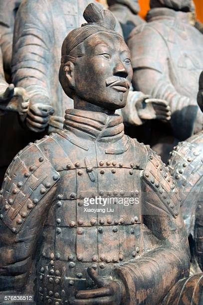 Terracotta Warrior Statue in Qin Shi Huangdi Tomb