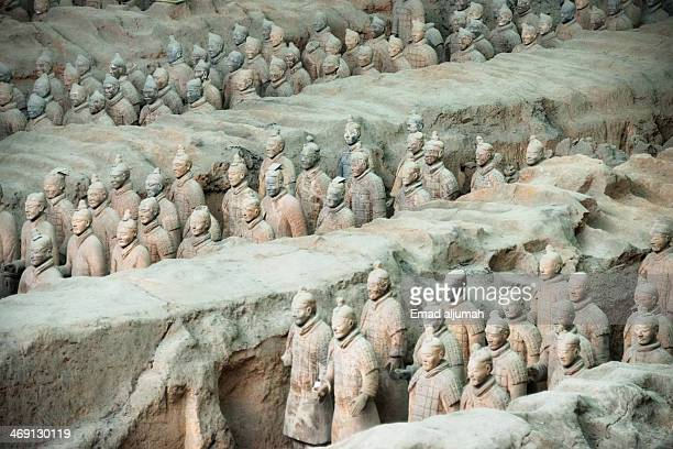Terracotta Warriors is a collection of sculptures depicting the armies of Qin Shi Huang, the first Emperor of China. They were discovered in Xian,...