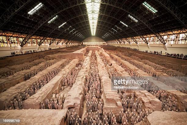 Terracotta warriors of Xian China