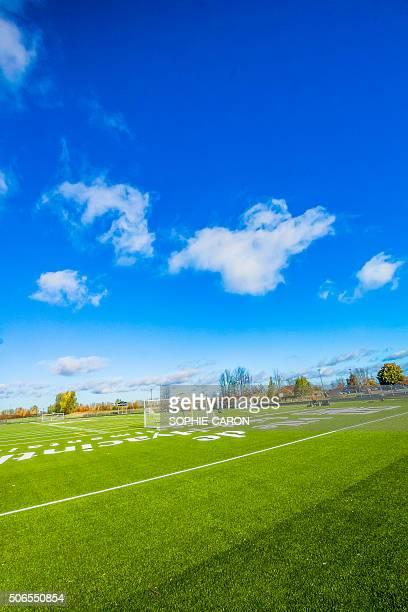 Terrain de soccer- CÉGEP de Saint-Hyacinthe
