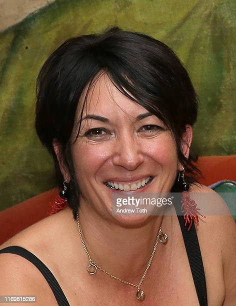 """TerraMar's Ghislaine Maxwell attends a reception at Ghislaine Maxwell's residence after """"StarTalk Live! Water World"""" Panel Discussion on June 05,..."""