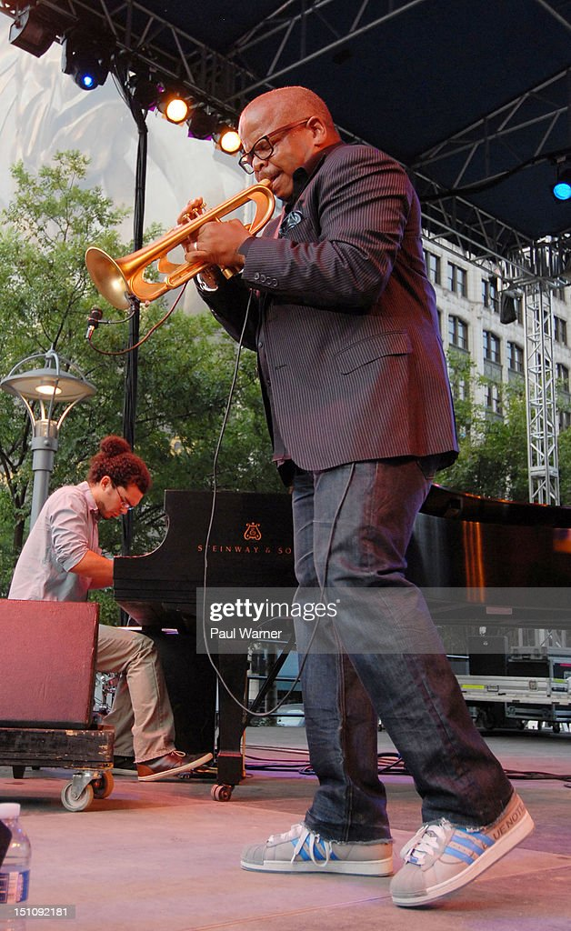 Terrance Blanchard performs during the 33rd Annual Detroit Jazz Festival on August 31, 2012 in Detroit, Michigan.