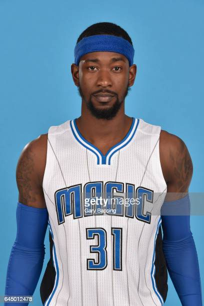 Terrance Ross of the Orlando Magic poses for a head shot on February 22 2017 at Amway Center in Orlando Florida NOTE TO USER User expressly...