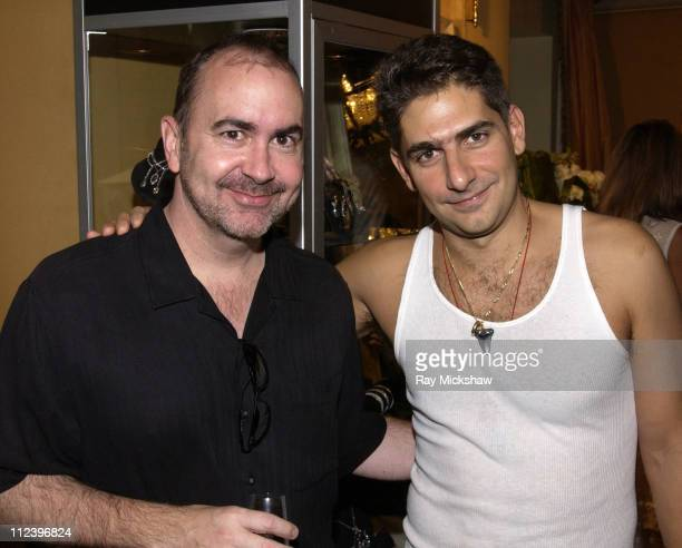 Terrance White Executive Producer of The Sopranos with Michael Imperioli