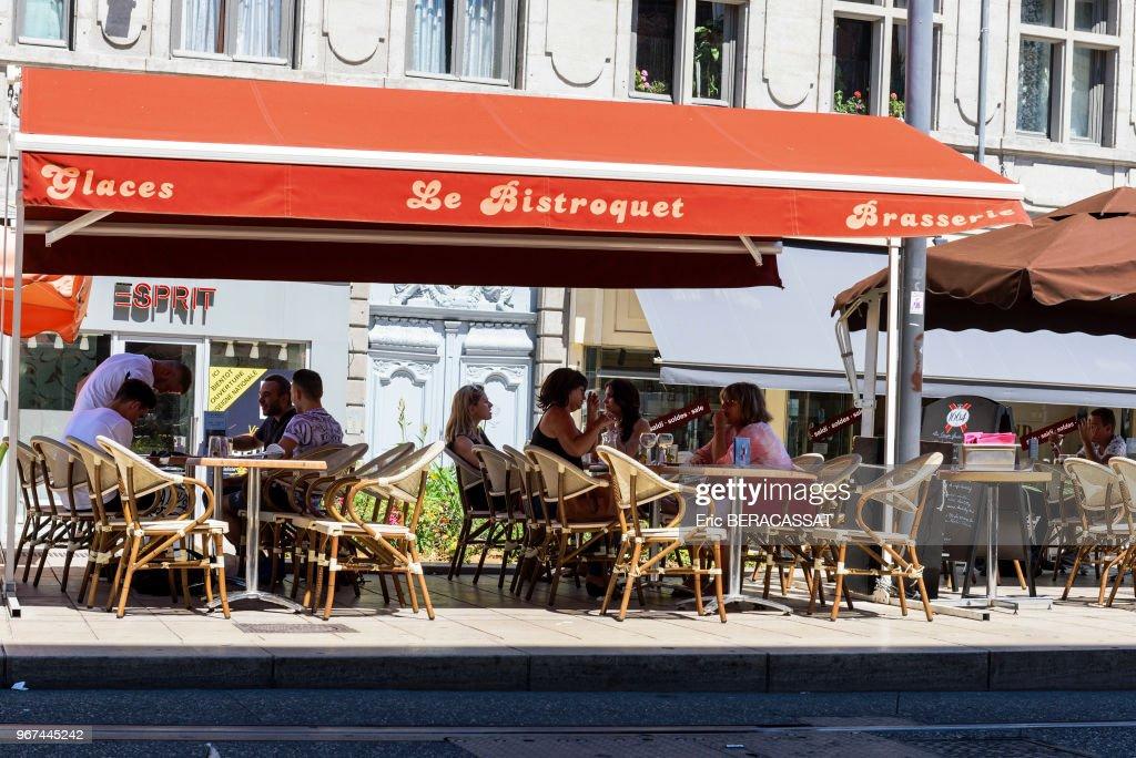 Terrasse De Café Saint Etienne France News Photo Getty