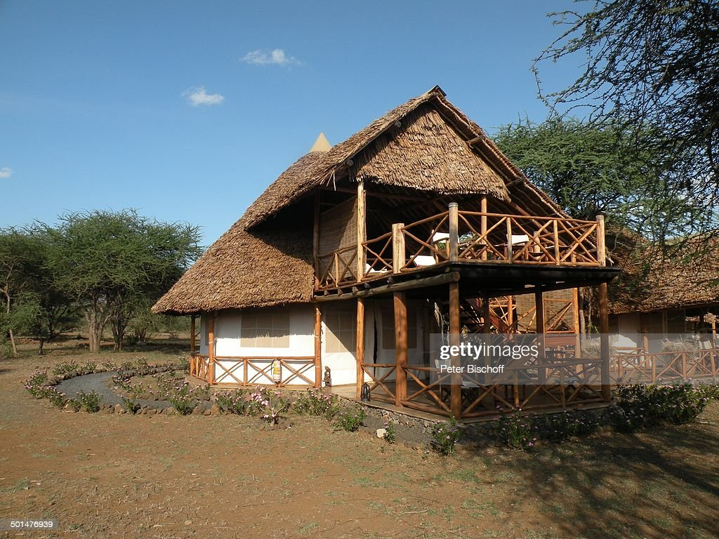 "Terrasse der ""Kibo-Suite"", ""Severin Safari Camp"", ""Tsavo West Nationalpark"", Kitani- : News Photo"