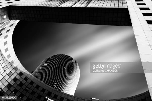 Terrasse Valmy, Financial district of La Défense, Paris, France