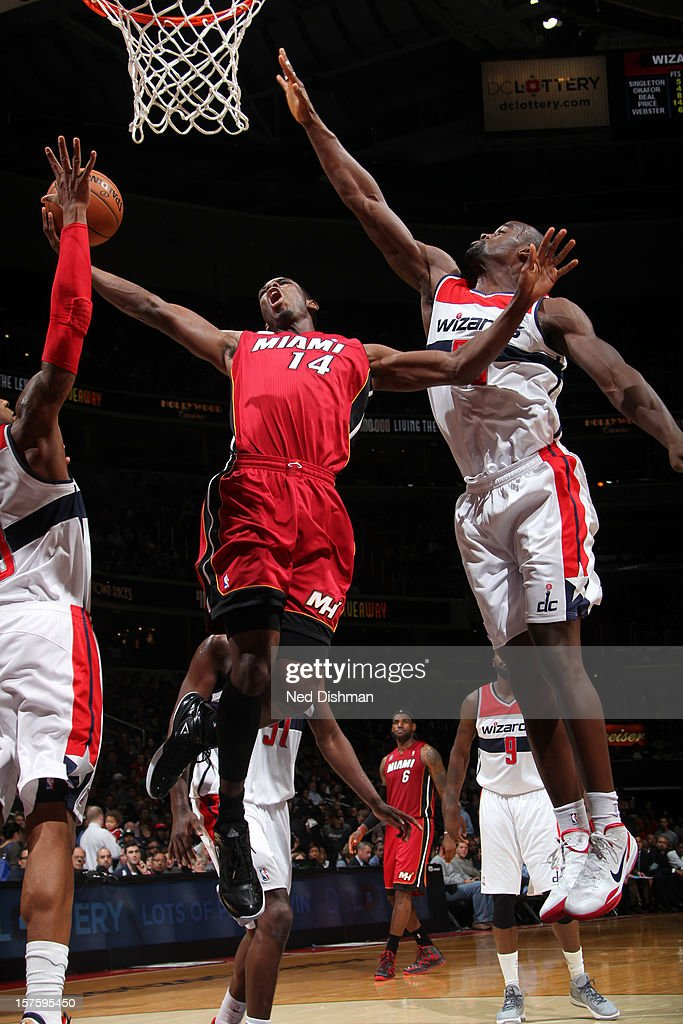 Miami Heat v Washington Wizards
