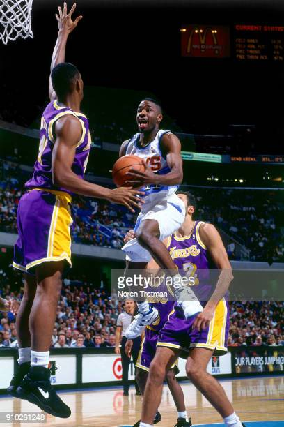 Terrell Brandon of the Cleveland Cavaliers drives during a game played on November 30 1994 at Gund Arena in Cleveland Ohio NOTE TO USER User...
