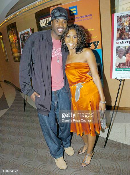 Terrell Carter and Terri Vaughn during HRC Presents Sneak Preview of Dirty Laundry May 19 2006 at HBO Building in New York City New York United States