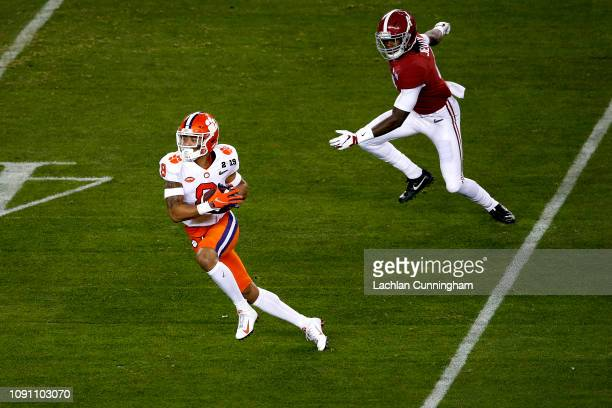 J Terrell of the Clemson Tigers in the College Football Playoff National Championship at Levi's Stadium on January 07 2019 in Santa Clara California