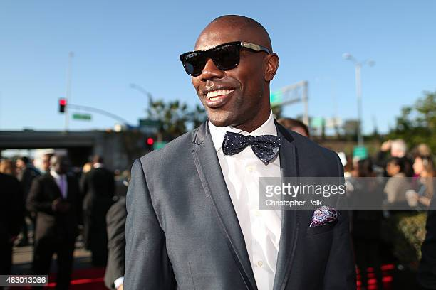 Terrell Owens attends The 57th Annual GRAMMY Awards at the STAPLES Center on February 8 2015 in Los Angeles California