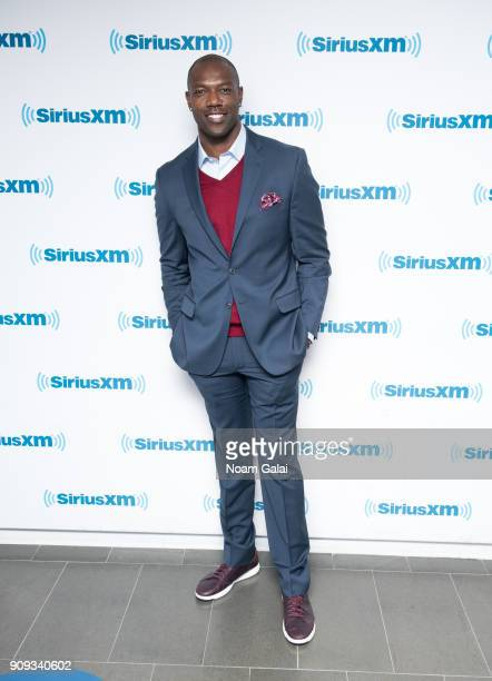 Terrell Owens visits the SiriusXM Studios on January 23 2018 in New York City