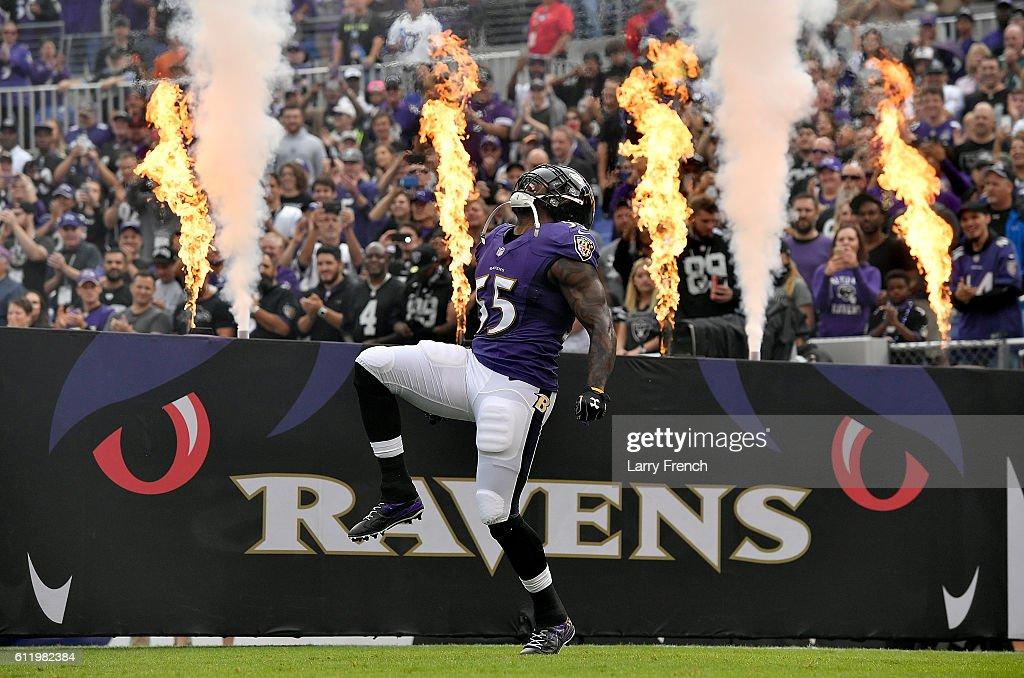 Oakland Raiders v Baltimore Ravens