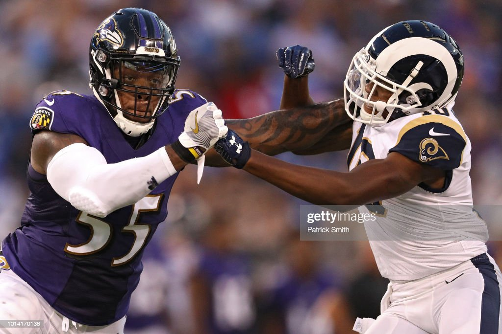 Los Angeles Rams v Baltimore Ravens : News Photo