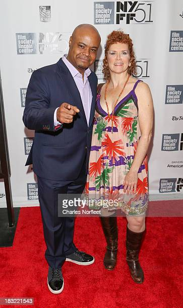 Terrence Bernie Hines and Amy Stiller attend the Centerpiece Gala Presentation Of The Secret Life Of Walter Mitty during the 51st New York Film...