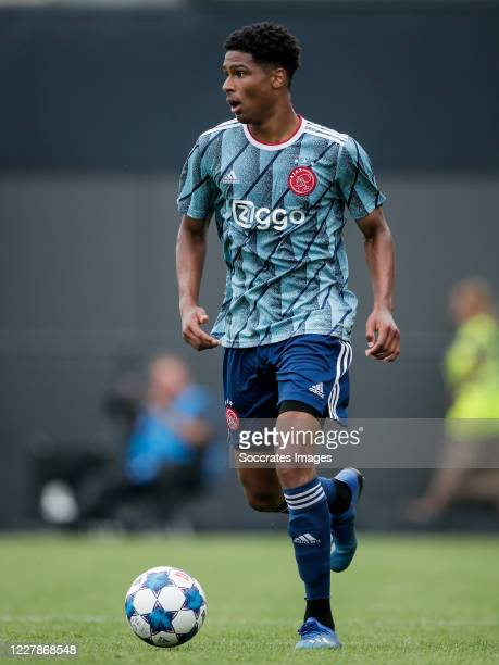 Terrence Douglas of Ajax U23 during the Club Friendly match between Almere City v Ajax U23 at the Yanmar Stadium on August 1, 2020 in Almere...