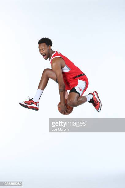 Terrence Drisdom of the Memphis Hustle poses for a portrait during the NBA GLeague media day on November 1 2018 at FedExForum in Memphis Tennessee...