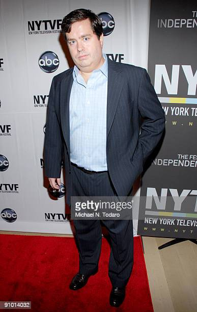 Terrence Grey attends the 2009 New York Television Festival screenings of Modern Family and Cougar Town at TheTimesCenter on September 21 2009 in New...