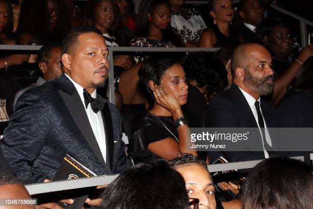 Terrence Howard Aisha McShaw and Jeffrey Wright attend the 9th Annual National Action Network Triumph Awards at Rose Theater Jazz at Lincoln Center...