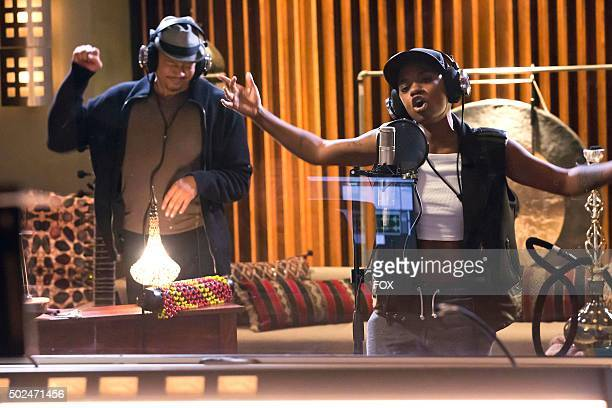 Terrence Howard and guest star BreZ in the True Love Never episode of EMPIRE airing Wednesday Nov 11 on FOX
