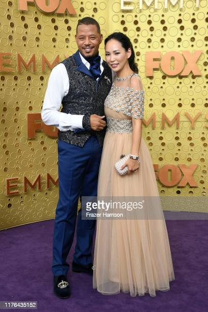 Terrence Howard and Mira Howard attend the 71st Emmy Awards at Microsoft Theater on September 22 2019 in Los Angeles California