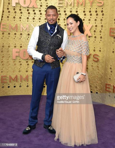 Terrence Howard and Mira Howard attend the 71st Emmy Awards at Microsoft Theater on September 22, 2019 in Los Angeles, California.