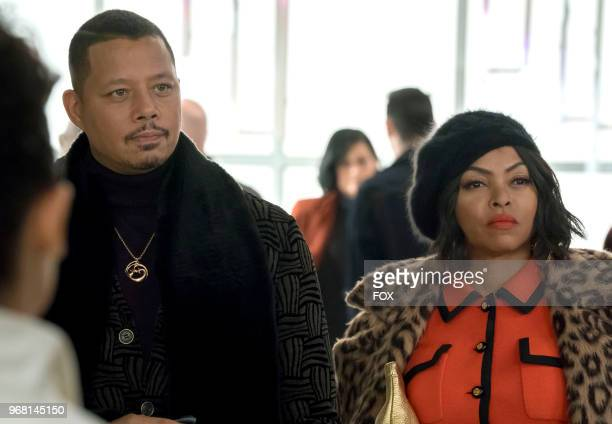 Terrence Howard and Taraji P Henson in the 'Bloody Noses Crackd Crowns' episode of EMPIRE airing Wednesday May 16 on FOX