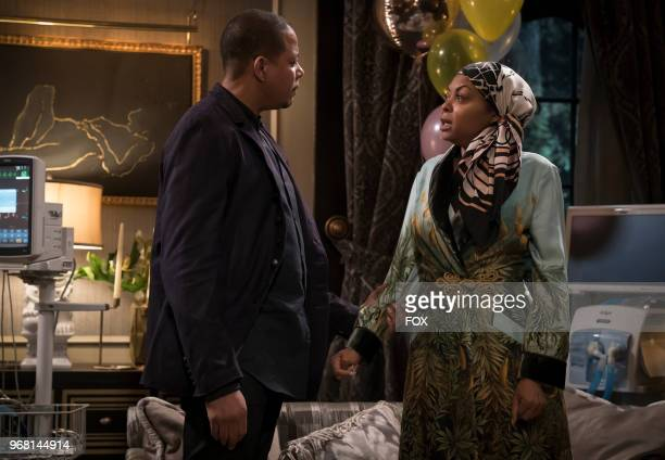 Terrence Howard and Taraji P Henson in the 'Sweet Sorrow episode of EMPIRE airing Wednesday April 11 on FOX