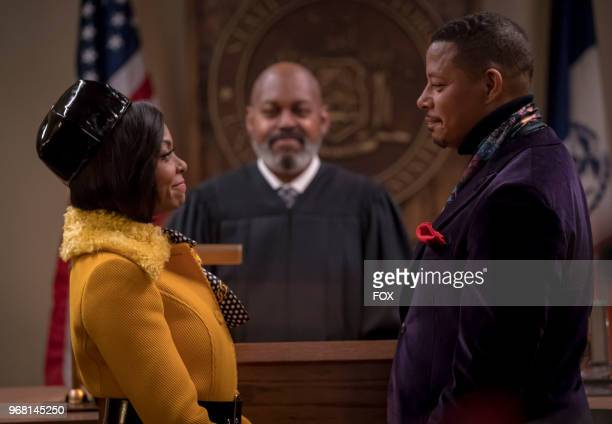 Terrence Howard and Taraji P Henson in the 'The Empire Unposessd' season finale episode of EMPIRE airing Wednesday May 23 on FOX