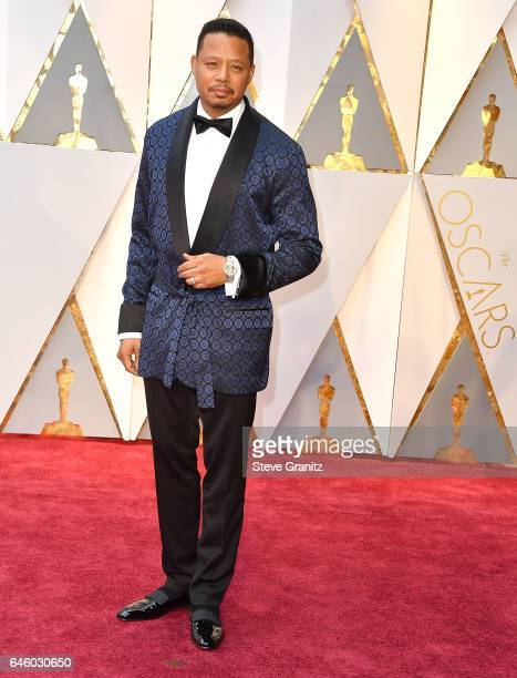 Terrence Howard arrives at the 89th Annual Academy Awards at Hollywood Highland Center on February 26 2017 in Hollywood California