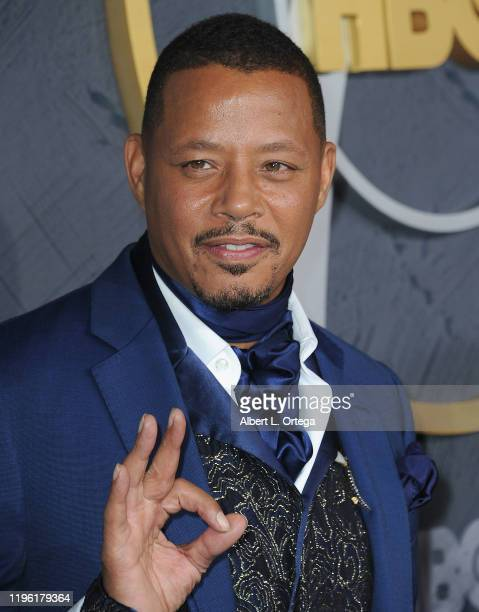 Terrence Howard arrives for the HBO's Post Emmy Awards Reception held at The Plaza at the Pacific Design Center on September 22, 2019 in West...