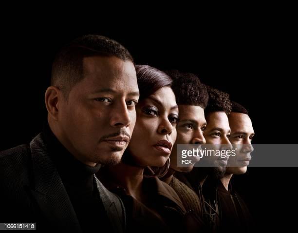 Terrence Howard as Lucious Lyon Taraji P Henson as Cookie Lyon Bryshere Y Gray as Hakeem Lyon Jussie Smollett as Jamal Lyon and Trai Byers as Andre...