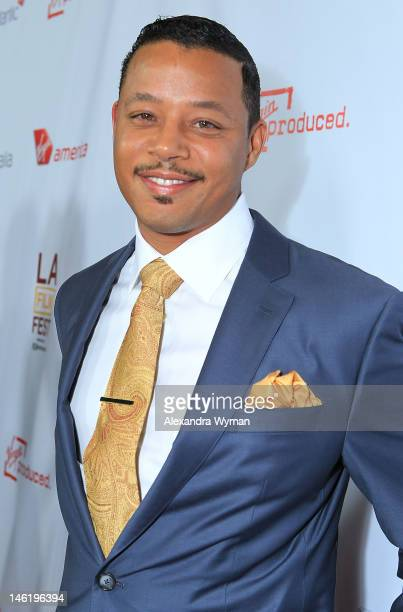 """Terrence Howard at The 2012 Los Angeles Film Festival Official Kick Off Premiere Of """"Departure Date"""" sponsored by Virgin Airlines held at The Regal..."""