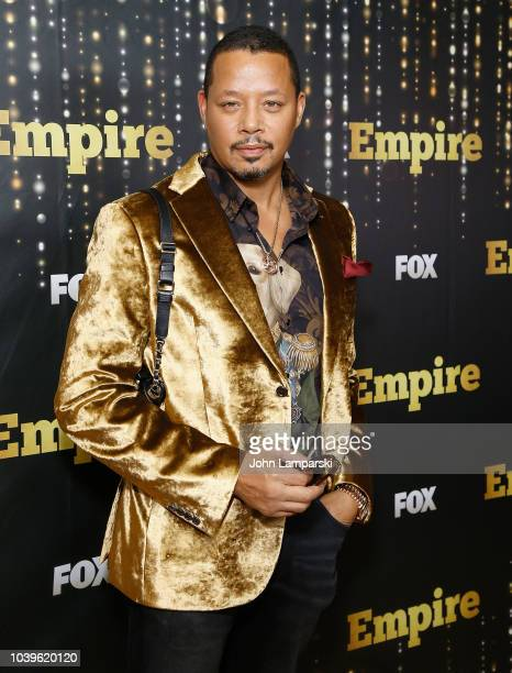 Terrence Howard attends Empire season 5 premiere at Lafayette on September 24 2018 in New York City