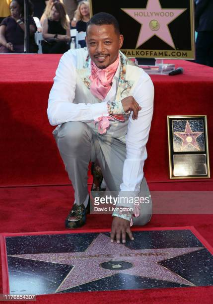 Terrence Howard attends his being honored with a Star on the Hollywood Walk of Fame on September 24 2019 in Hollywood California