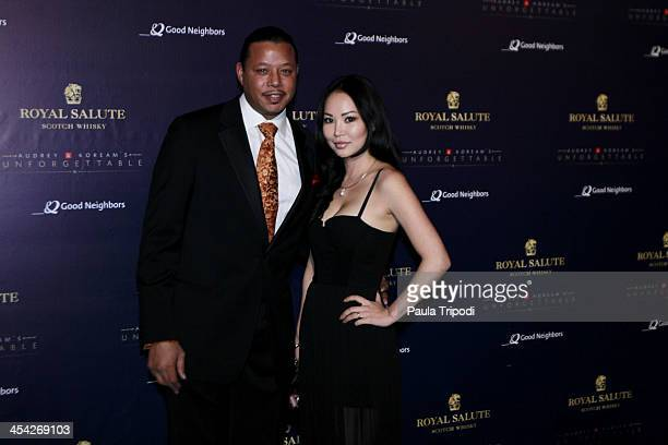 Terrence Howard attends the 12th Annual Unforgettable Gala at Park Plaza on December 7 2013 in Los Angeles California