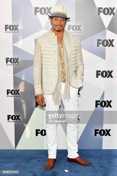 Terrence Howard attends the 2018 Fox Network Upfront at Wollman Rink Central Park on May 14 2018 in New York City